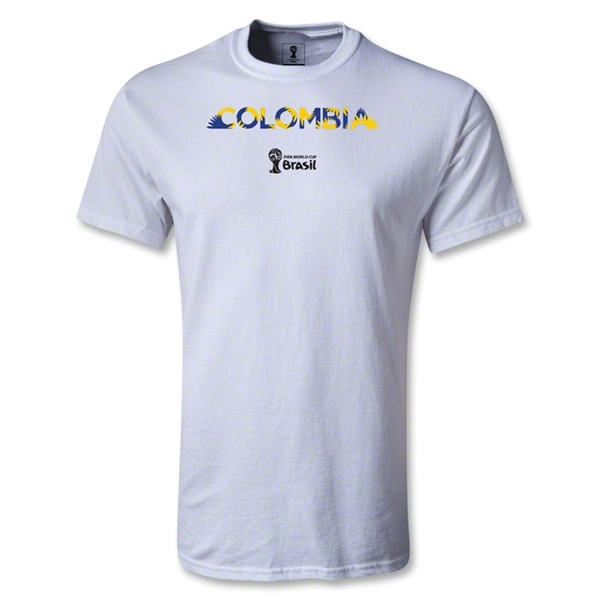 Colombia 2014 FIFA World Cup Brazil(TM) Youth Palm T-Shirt (White)