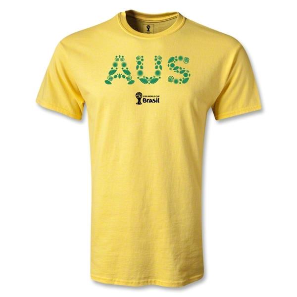 Australia 2014 FIFA World Cup Brazil(TM) Youth Elements T-Shirt (Yellow)