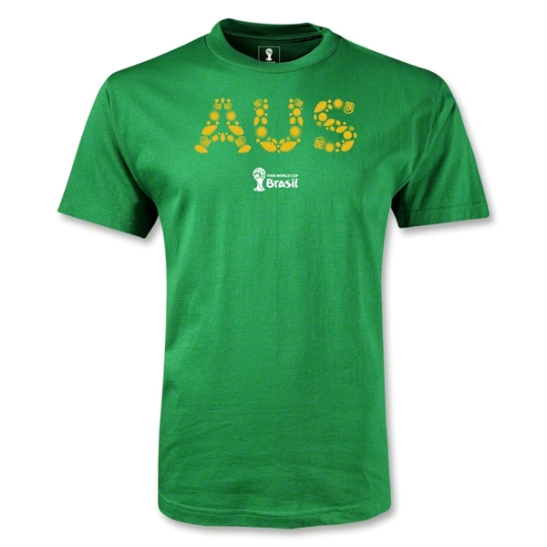 Australia 2014 FIFA World Cup Brazil(TM) Youth Elements T-Shirt (Green)