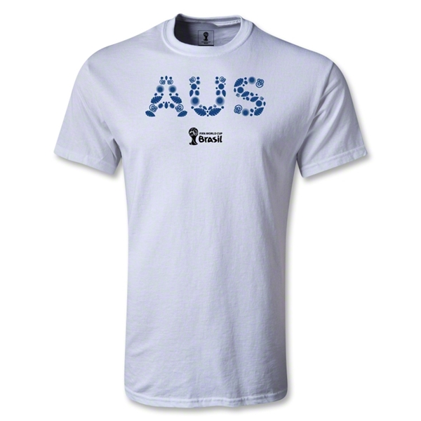Australia 2014 FIFA World Cup Brazil(TM) Youth Elements T-Shirt (White)