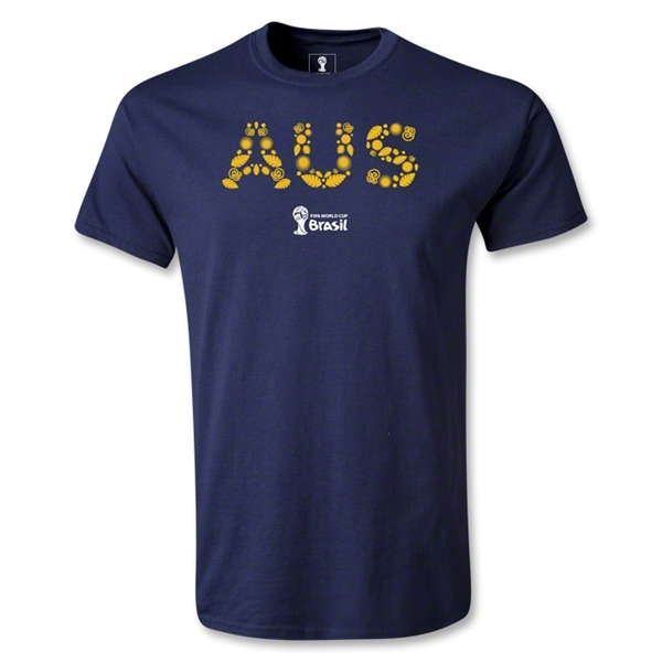Australia 2014 FIFA World Cup Brazil(TM) Youth Elements T-Shirt (Navy)