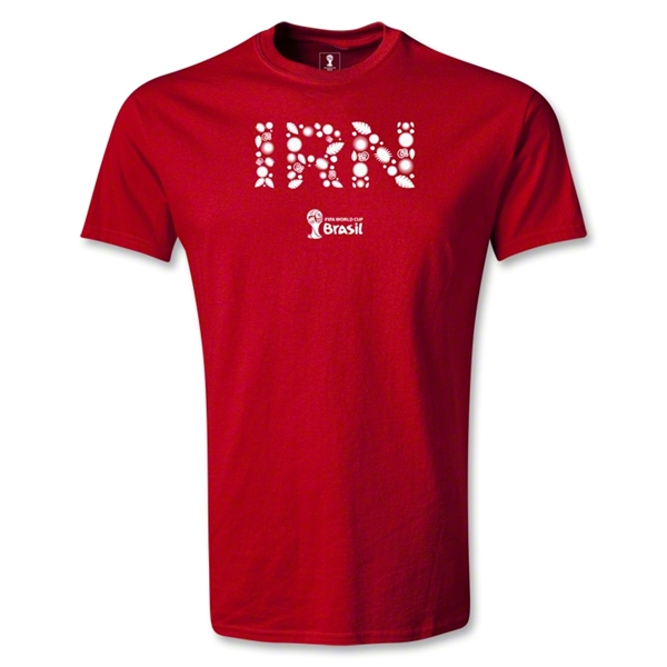 Iran 2014 FIFA World Cup Brazil(TM) Youth Elements T-Shirt (Red)