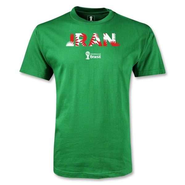 Iran 2014 FIFA World Cup Brazil(TM) Youth Palm T-Shirt (Green)