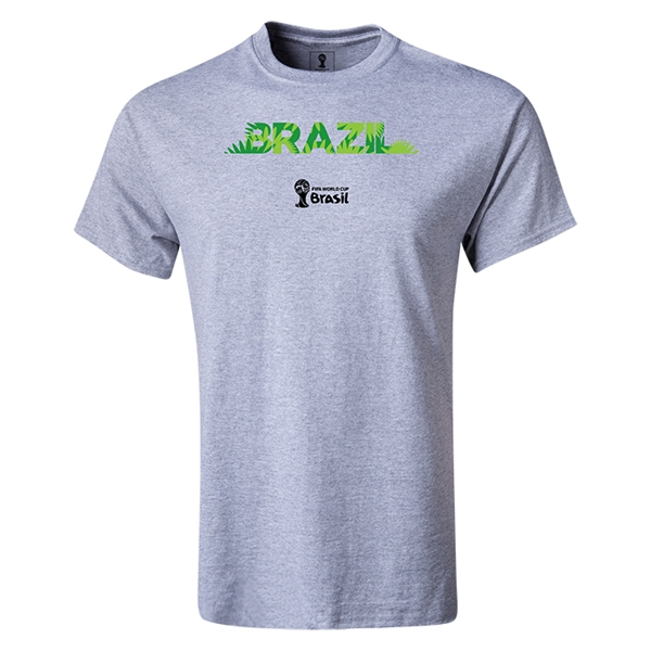 Brazil 2014 FIFA World Cup Brazil(TM) Youth T-Shirt (Gray)