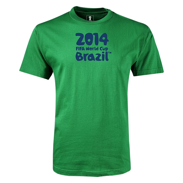 2014 FIFA World Cup Brazil(TM) Youth Logotype T-Shirt (Green)