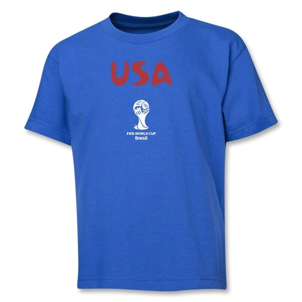 USA 2014 FIFA World Cup Brazil(TM) Youth Core T-Shirt (Royal)