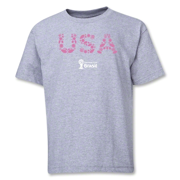 USA 2014 FIFA World Cup Brazil(TM) Youth Elements T-Shirt (Grey)