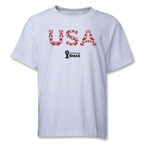 USA 2014 FIFA World Cup Brazil(TM) Youth Elements T-Shirt (White)