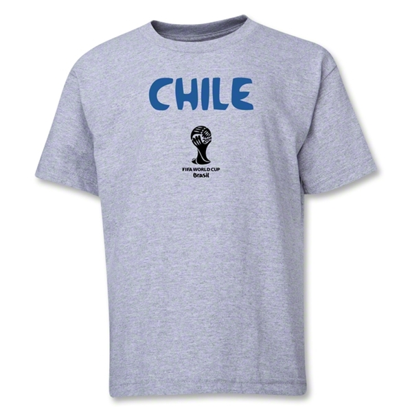 Chile 2014 FIFA World Cup Brazil(TM) Youth Core T-Shirt (Grey)