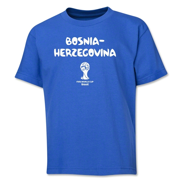 Bosnia-Herzegovina 2014 FIFA World Cup Brazil(TM) Youth Core T-Shirt (Royal)