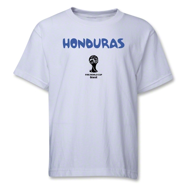 Honduras 2014 FIFA World Cup Brazil(TM) Youth Core T-Shirt (White)