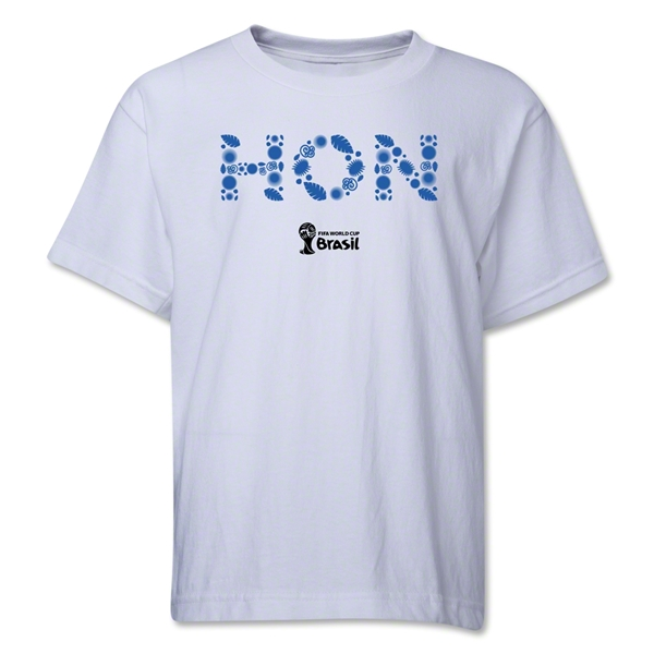 Honduras 2014 FIFA World Cup Brazil(TM) Youth Elements T-Shirt (White)