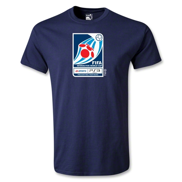 FIFA Interactive World Cup Youth Emblem T-Shirt (Navy)