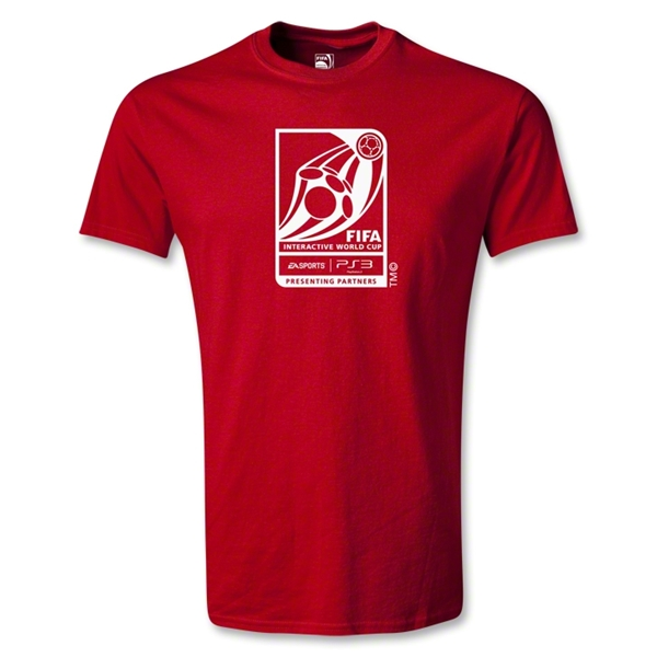 FIFA Interactive World Cup Youth Emblem T-Shirt (Red)