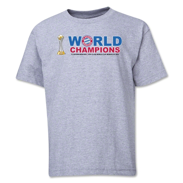 Bayern Munich FIFA Club World Cup 2013 Youth Champions T-Shirt (Gray)