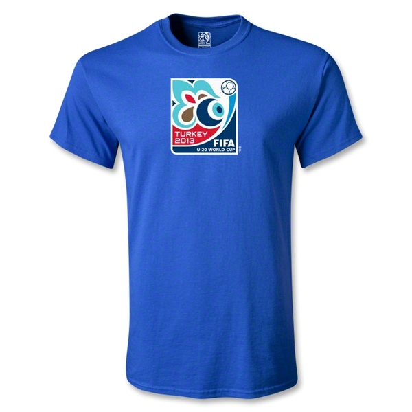 FIFA U-20 World Cup Tukey 2013 Youth Emblem T-Shirt (Royal)