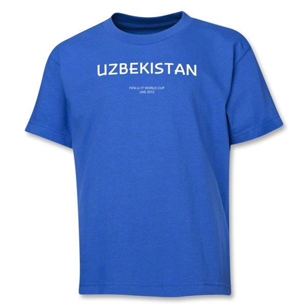 Uzbekistan 2013 FIFA U-17 World Cup UAE Youth T-Shirt (Royal)