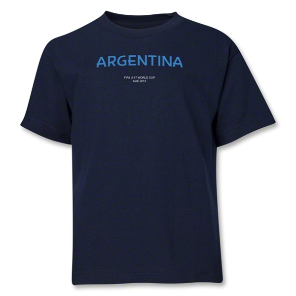 Argentina 2013 FIFA U-17 World Cup UAE Youth T-Shirt (Navy)