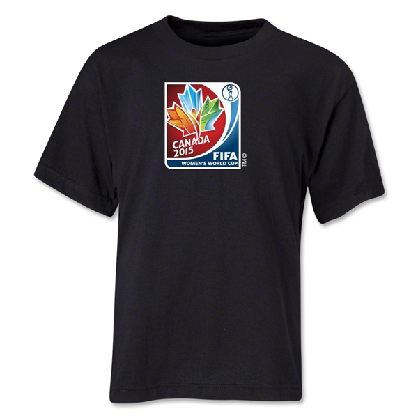 FIFA Women's World Cup Canada 2015(TM) Core Youth T-Shirt (Black)