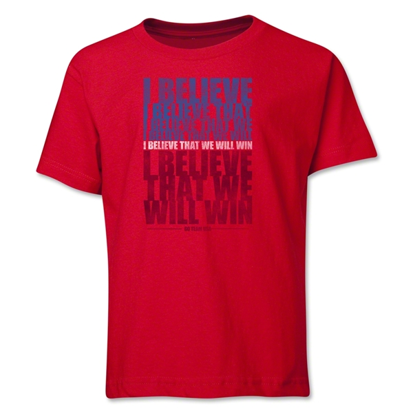 I Believe Youth T-Shirt (Red)