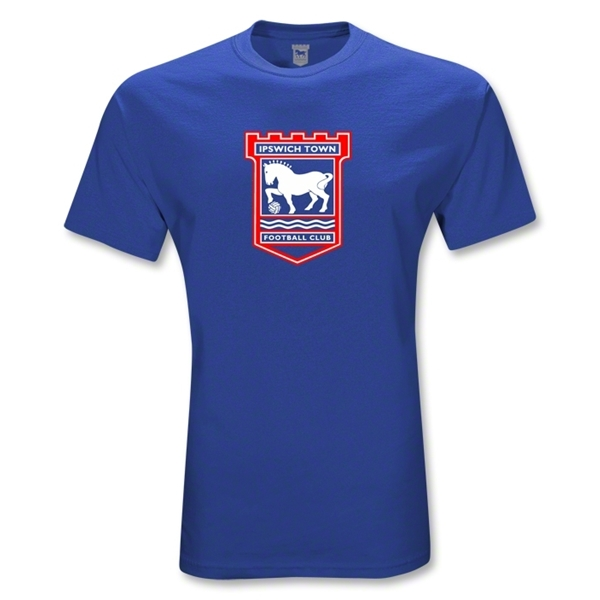 Ipswich Crest Youth T-Shirt (Royal)