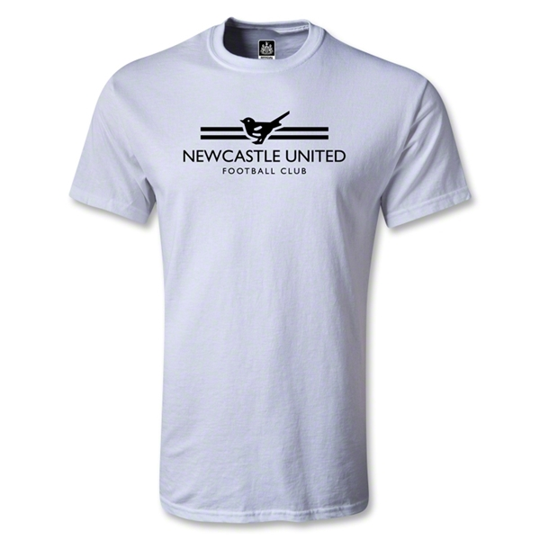 Newcastle United Print Youth T-Shirt (White)
