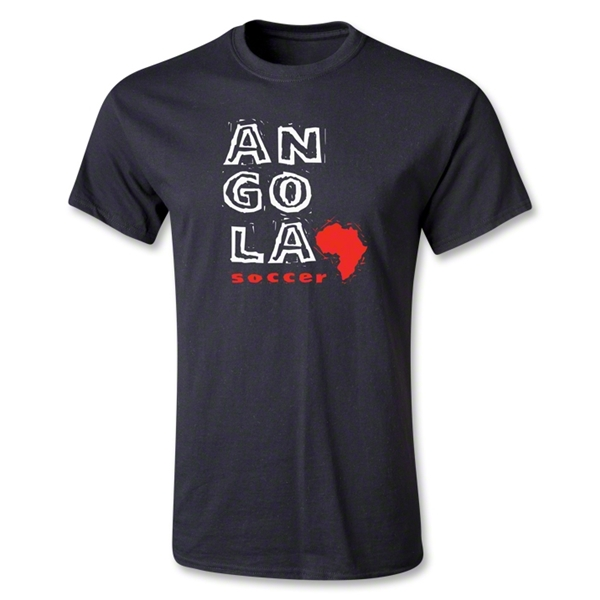 Angola Youth Country T-Shirt (Black)