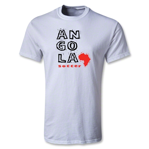 Angola Youth Country T-Shirt (White)