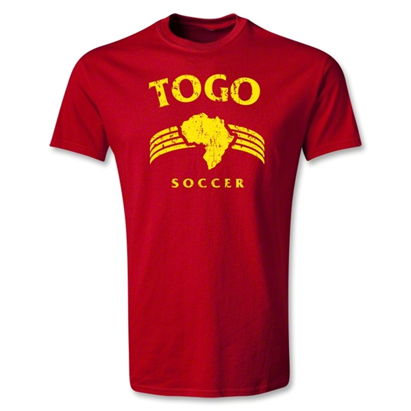 Togo Youth Country T-Shirt (Red)
