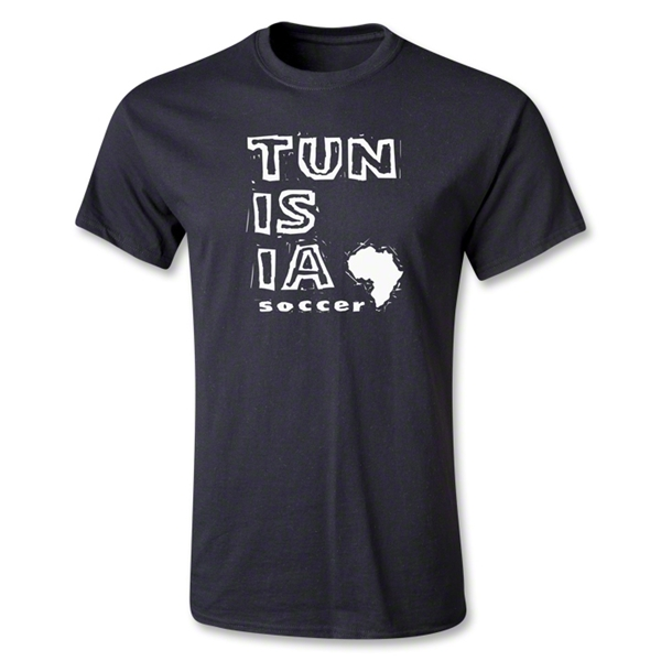 Tunisia Youth Country T-Shirt (Black)