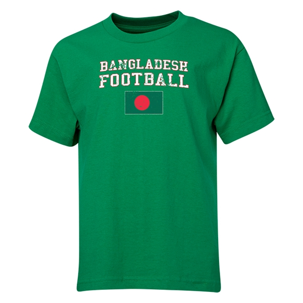Bangladesh Youth Football T-Shirt (Green)