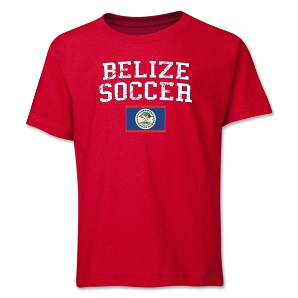 Belize Youth Soccer T-Shirt (Red)