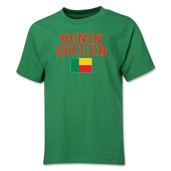 Benin Youth Soccer T-Shirt (Green)