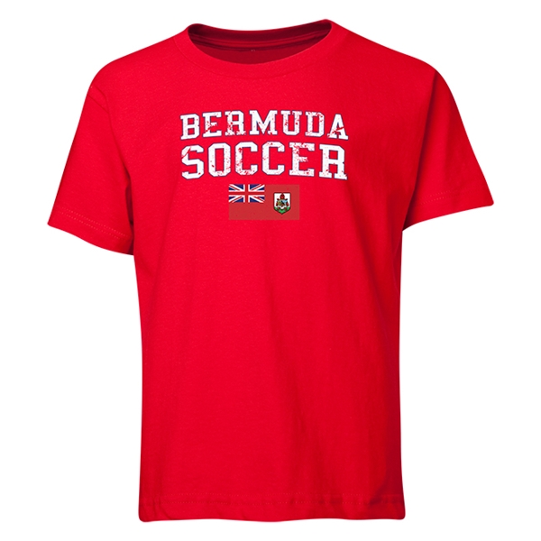 Bermuda Youth Soccer T-Shirt (Red)
