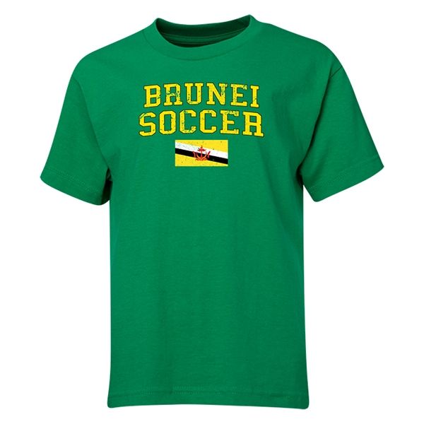 Brunei Youth Soccer T-Shirt (Green)