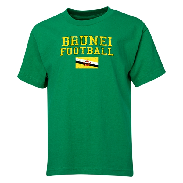 Brunei Youth Football T-Shirt (Green)