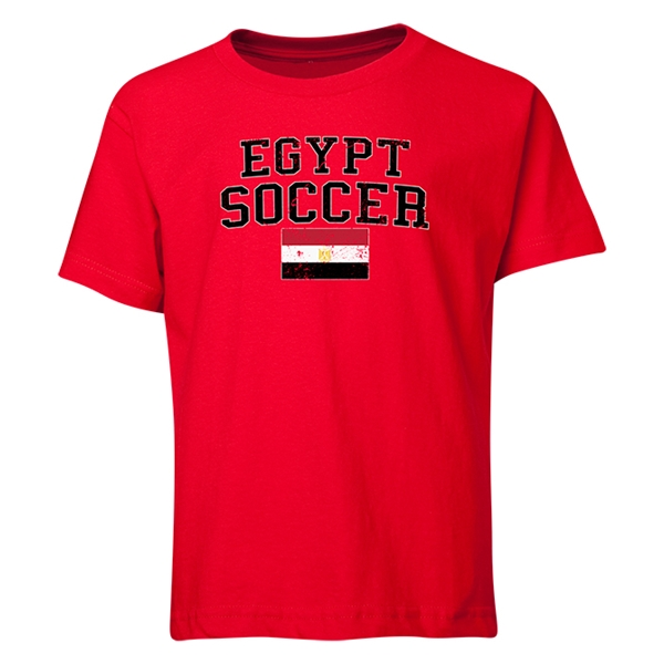 Egypt Youth Soccer T-Shirt (Red)