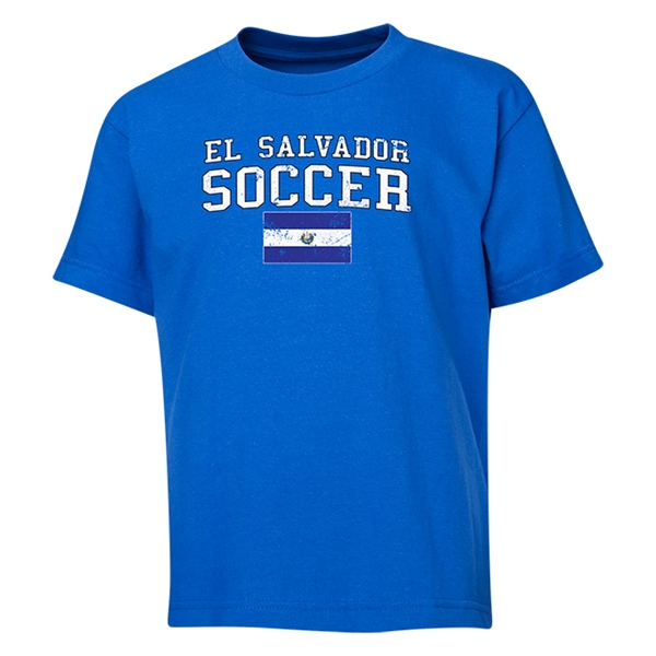 El Salvador Youth Soccer T-Shirt (Royal)