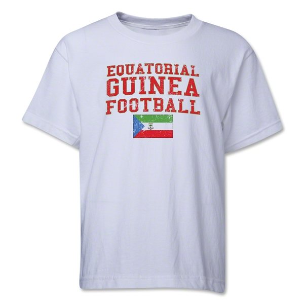 Equatorial Guinea Youth Football T-Shirt (White)