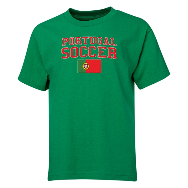 Portugal Youth Soccer T-Shirt (Green)