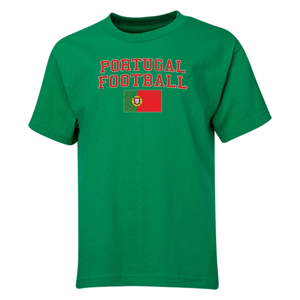 Portugal Youth Football T-Shirt (Green)