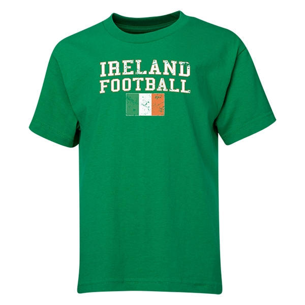Ireland Youth Football T-Shirt (Green)