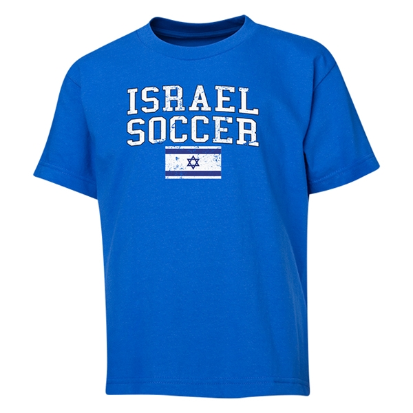 Israel Youth Soccer T-Shirt (Royal)