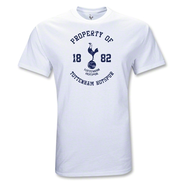 Tottenham Property Youth T-Shirt (White)
