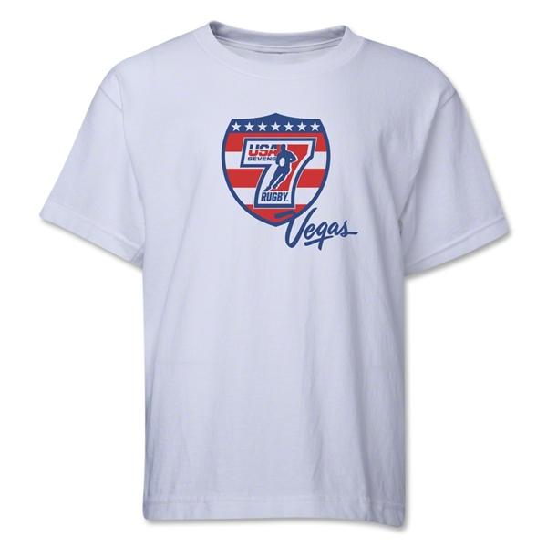 USA Sevens Vegas Rugby Youth T-Shirt (White)