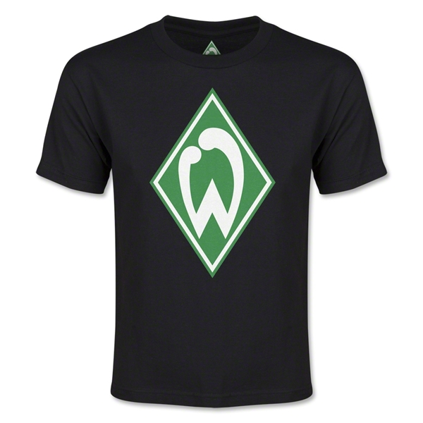 Werder Bremen Youth T-Shirt (Black)