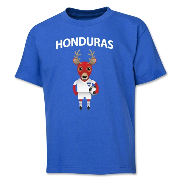 Honduras Animal Mascot Youth T-Shirt (Royal)