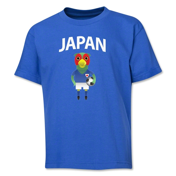 Japan Animal Mascot Youth T-Shirt (Royal)