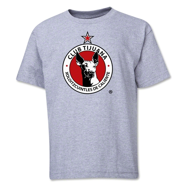 Xolos de Tijuana Youth T-Shirt (Gray)