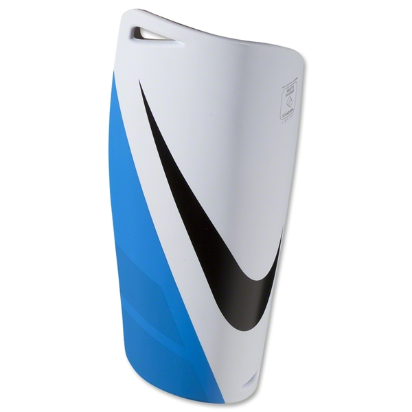 Nike Mercurial Lite 12 Shinguard (White/Blue/Black)